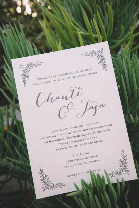 Chante + Jaja Wedding