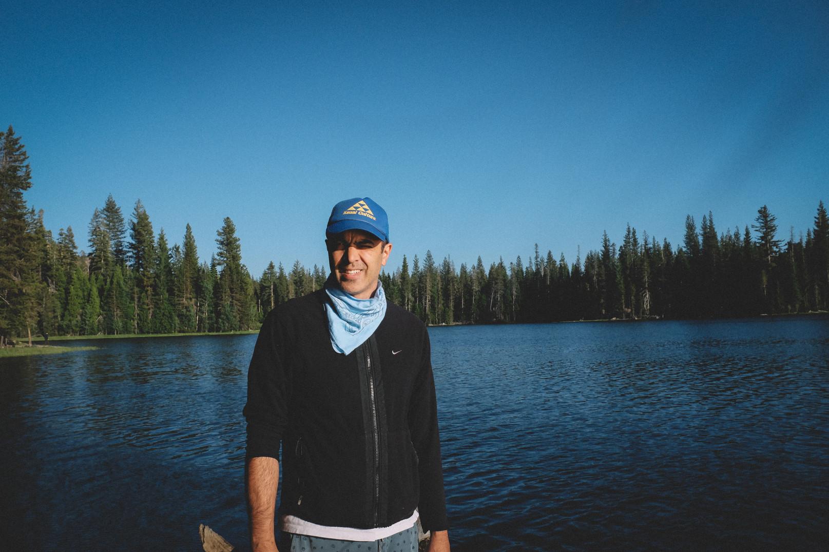 Ingrid Nelson Photography camping Lake canoe sierra
