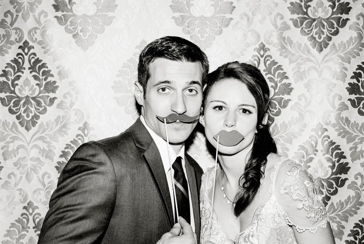 Mustache + Lips