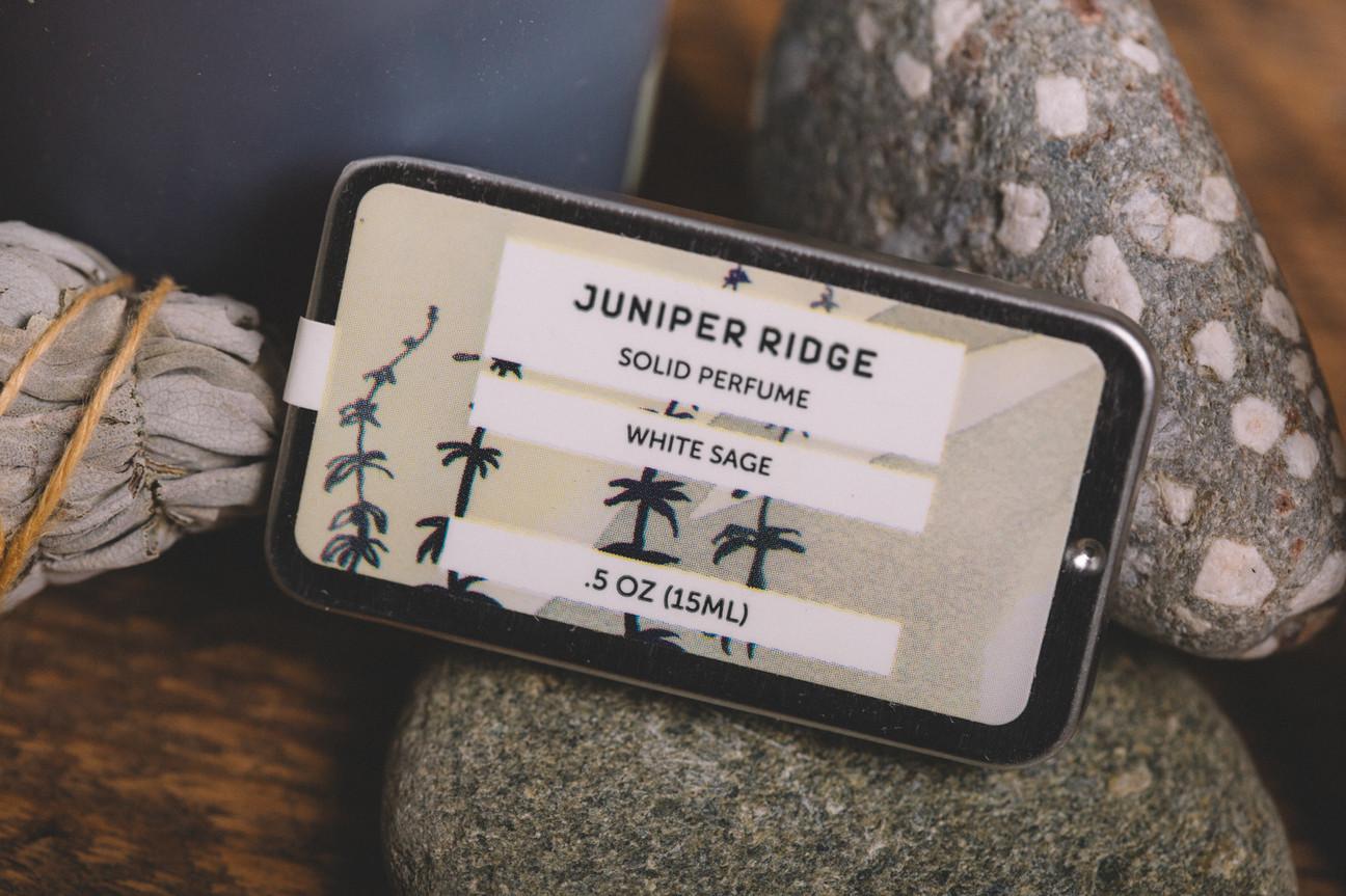 Juniper Ridge  White Sage Ingrid Nelson Photographer.