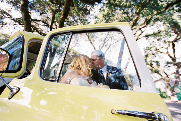 Annadel Wedding Kiss Old Truck