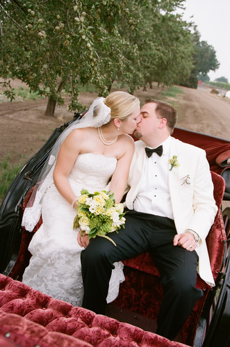 Chico Wedding Kiss Horse Carriage