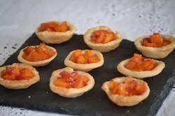 Tartelettes aux abricots et romarin