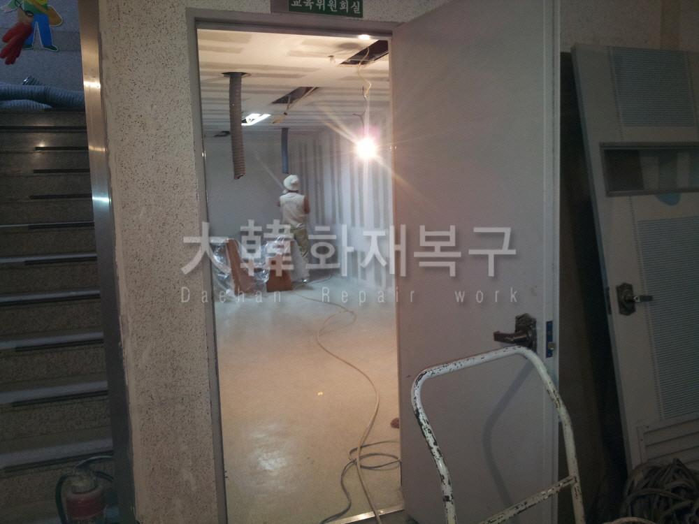 2012_10_면목교회 지하 리모델링_공사사진_3