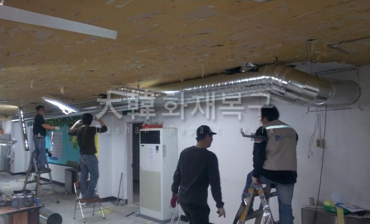 2012_10_면목교회 지하 리모델링_공사사진_10