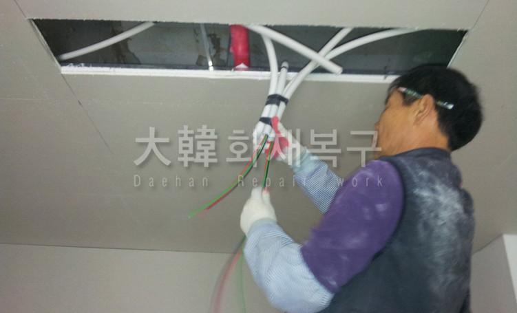 2012_10_면목교회 지하 리모델링_공사사진_5