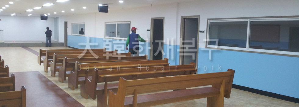 2012_10_면목교회 지하 리모델링_완공사진_1