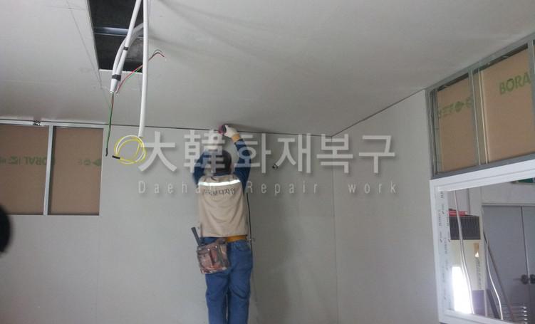 2012_10_면목교회 지하 리모델링_공사사진_7