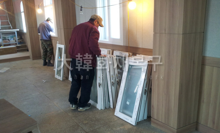 2012_12_이천 효양교회 리모델링_공사사진_1