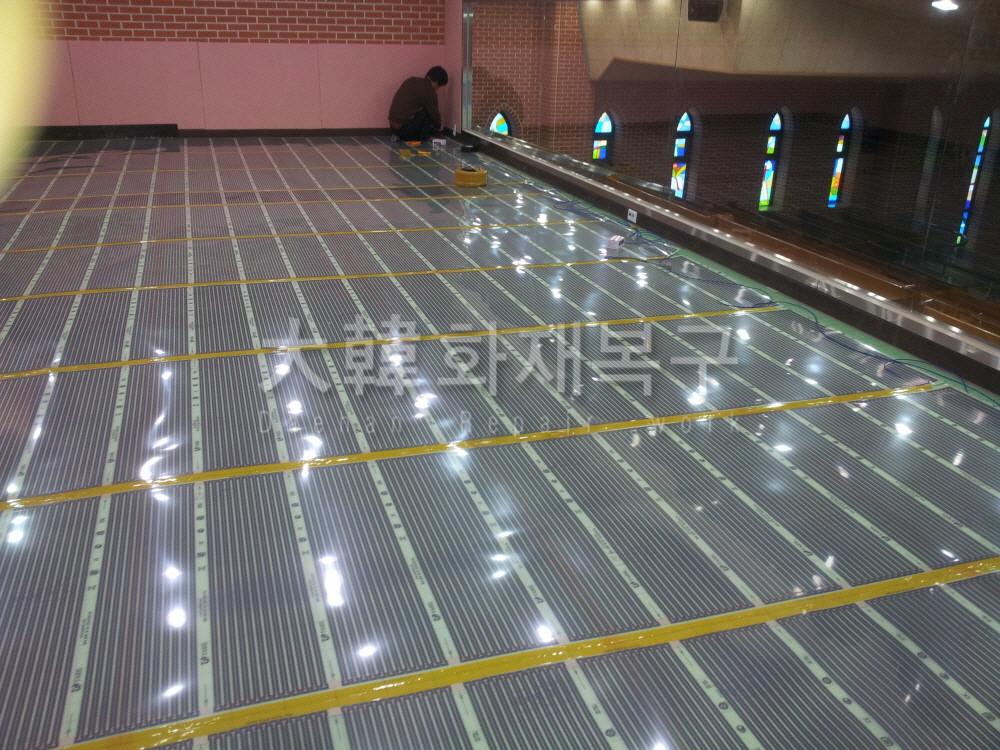 2012_10_면목교회 지하 리모델링_공사사진_2