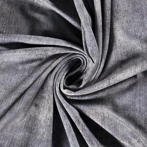 Punto de algodón Jeans Grey