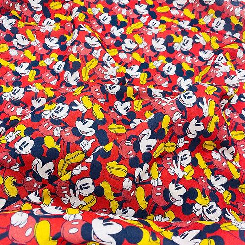 Popelín Mickey-pieza 50cm