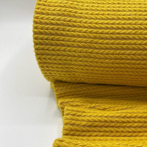 Knit Nudos Soft mostaza