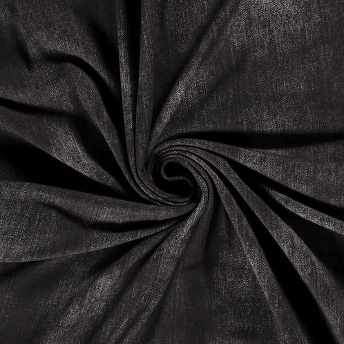 Punto de algodón Jeans Dark Grey