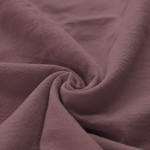 Cotton Rustic Dusty Lilac