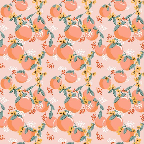 Popelín Naranjas