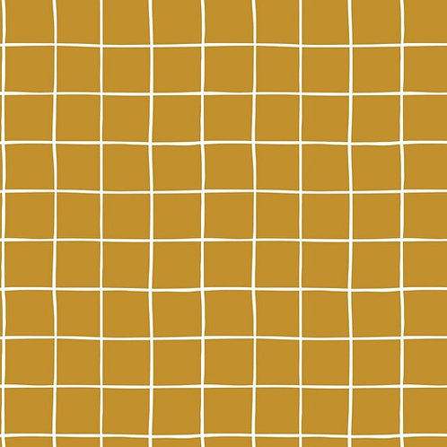 Sudadera Grid mostaza (organic)