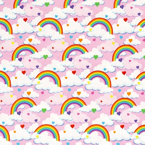 Lovely Rainbow pink