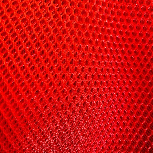 Tela Mesh Rojo