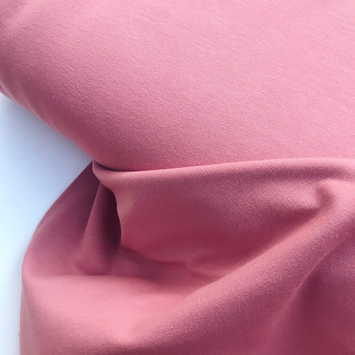 French terry dark pink