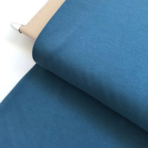 Punto liso azul jeans