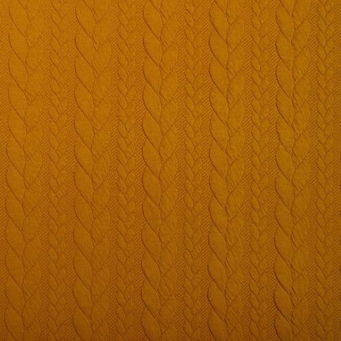 Knit Nudos Mostaza-últimos 125cm