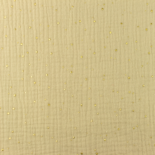 Doble gasa Gold crema