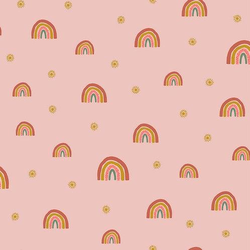 Sudadera Rainbow pink (organic)