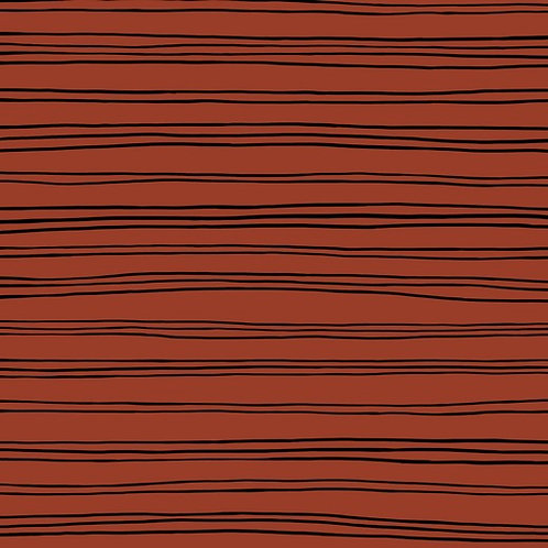 Sudadera Lines teja (organic)