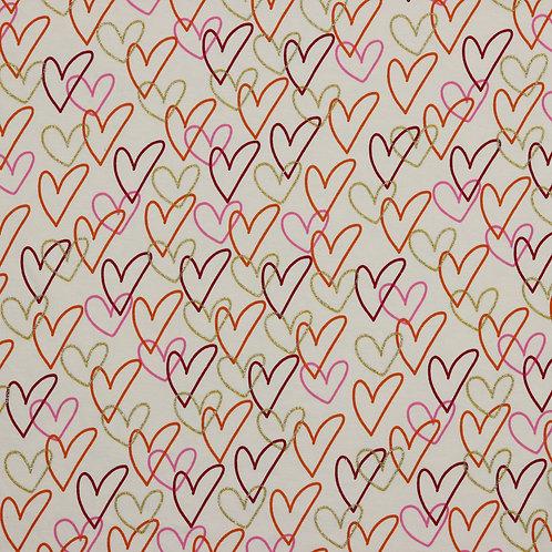 Shinny Hearts-últimos 140cm