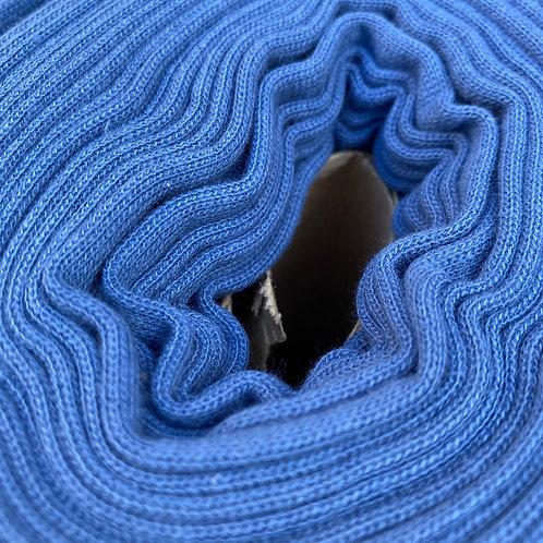 Puño tubular blue jeans