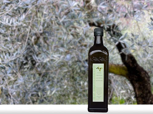 Organic Extra Virgin Olive Oil (750ml)