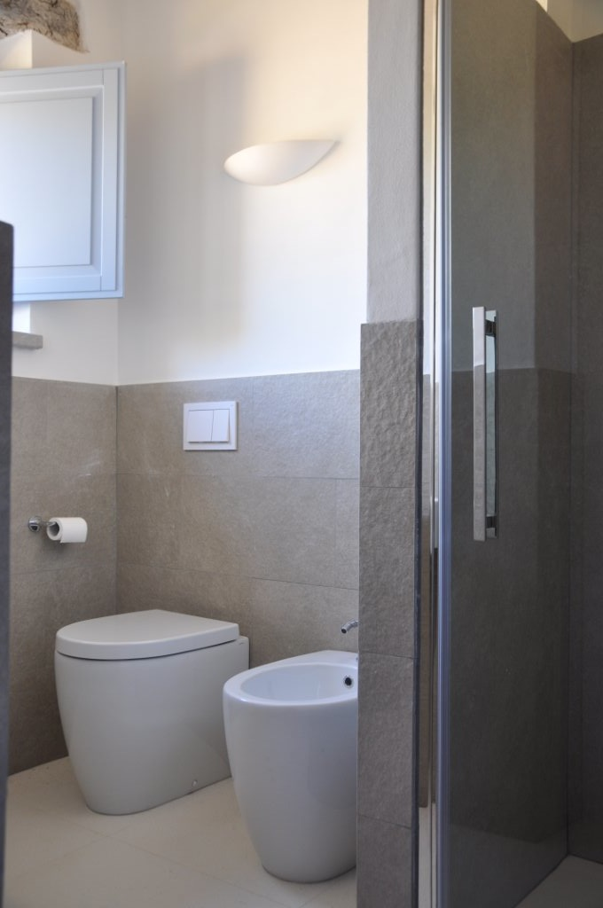 Beautifully fitted bathrooms