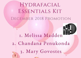 Our Winners of Hydrafacial Essentials Kit
