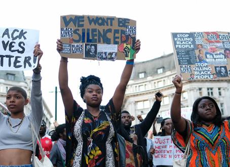 Voce e Silenzio del Black Lives Matter
