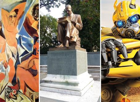 Crisi Identitaria tra Statue, Cubismo e Transformers