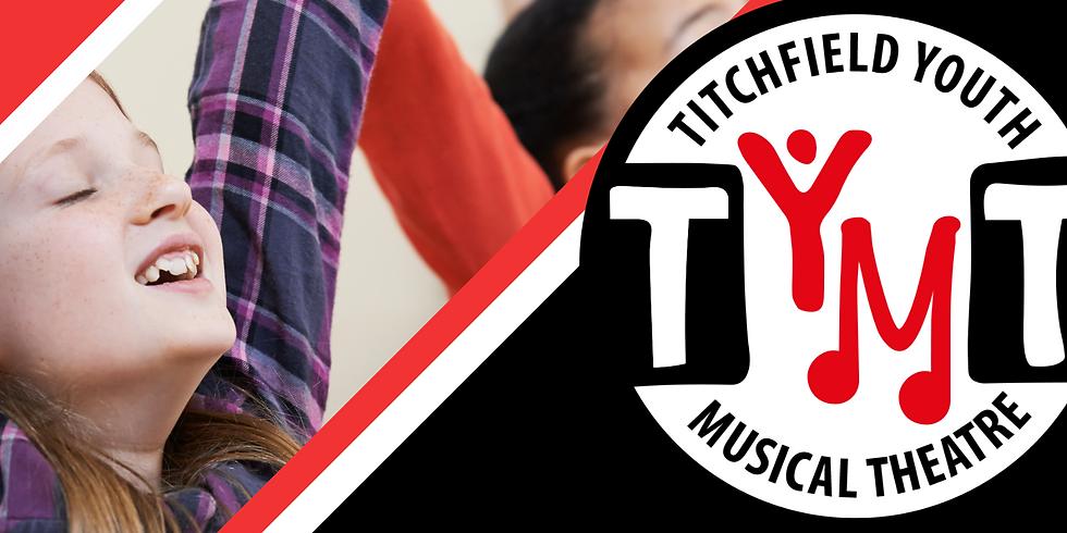 TYMT Juniors (Ages 8 - 11)  Autumn Term