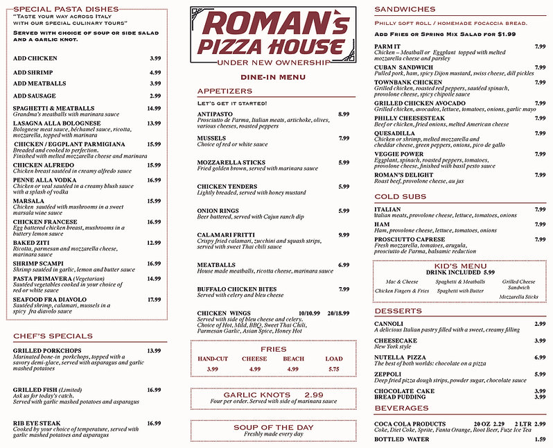 Romans Pizza House-Menu-1 High Res.-page