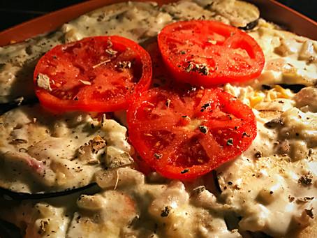 Eggplant, Zucchini, Tomato Lasagña