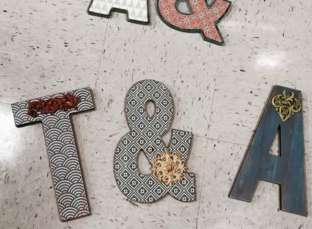 D.I.Y. Monograms, Initials & More