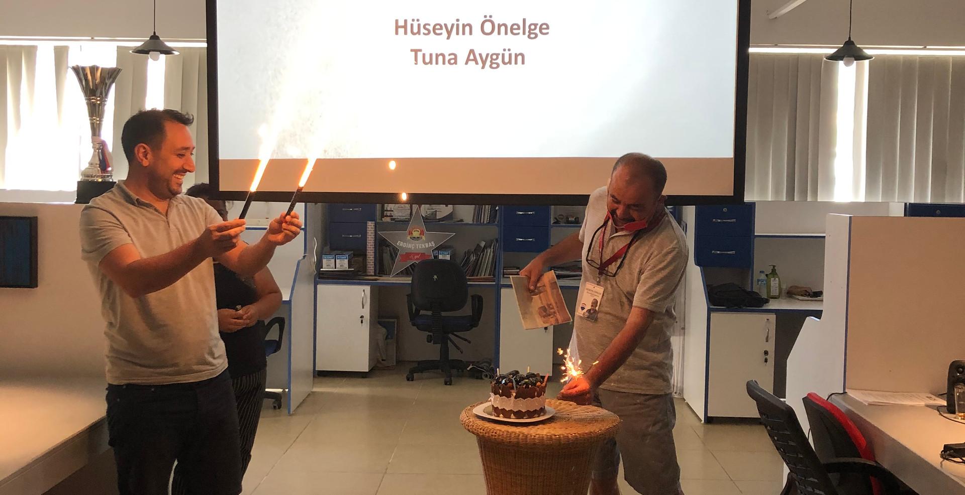 Temmuz ayı doğumgünü kutlamamızı gerçekleştirdik.