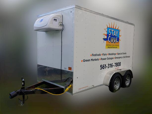 Cooler Trailer For Rent In Florida