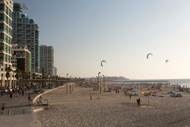 חוף ירושלים, אוקטובר 2020