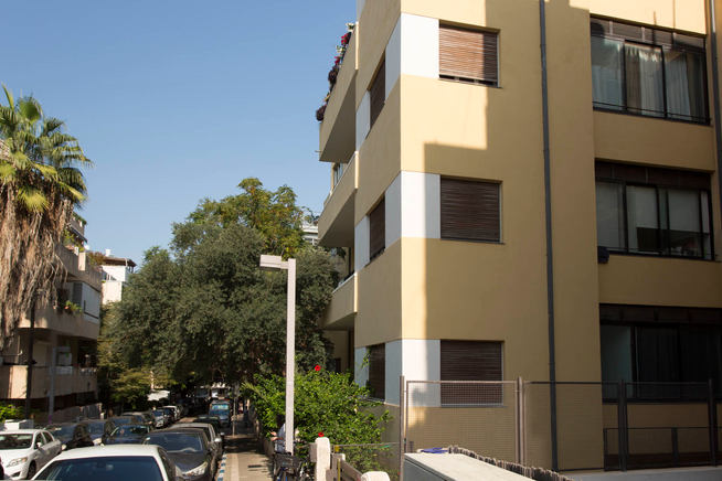 רחוב יוסף הנשיא, תל אביב 2020