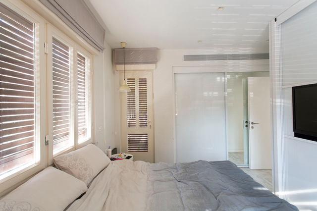 חדר שינה שקט, נכס בשיווק. לב תל אביב 2020