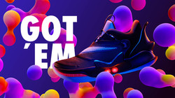 NIKE Motion graphics, animación, visuales, diseño, video mapping, videomaping