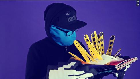 Motion graphics animación visuales diseño