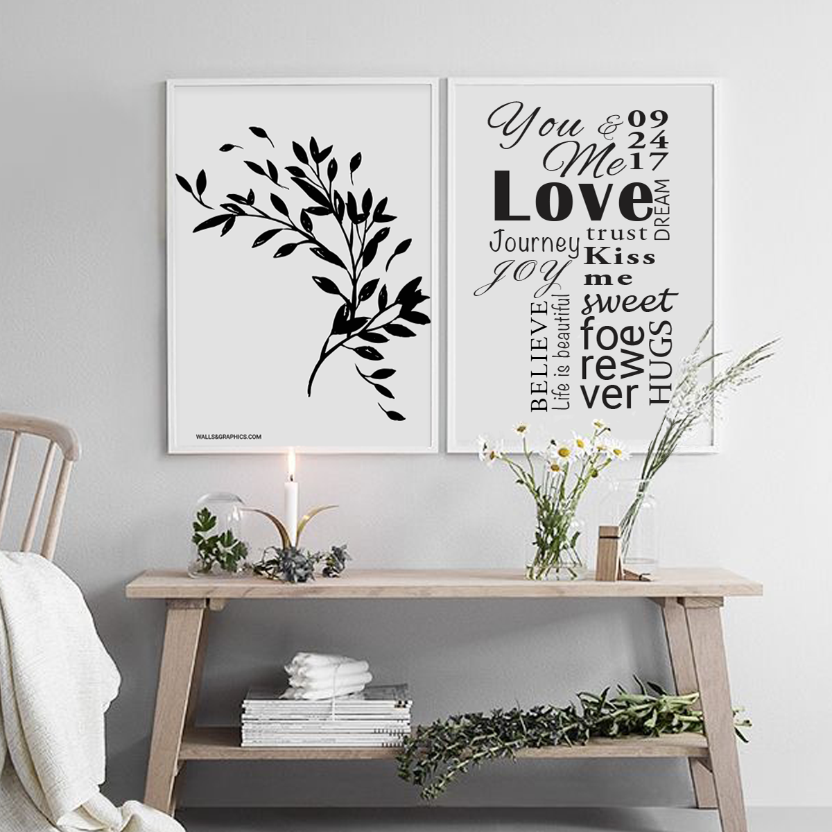 Poster home decor