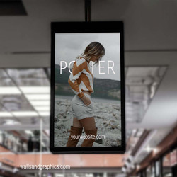 Mall Indoor Poster