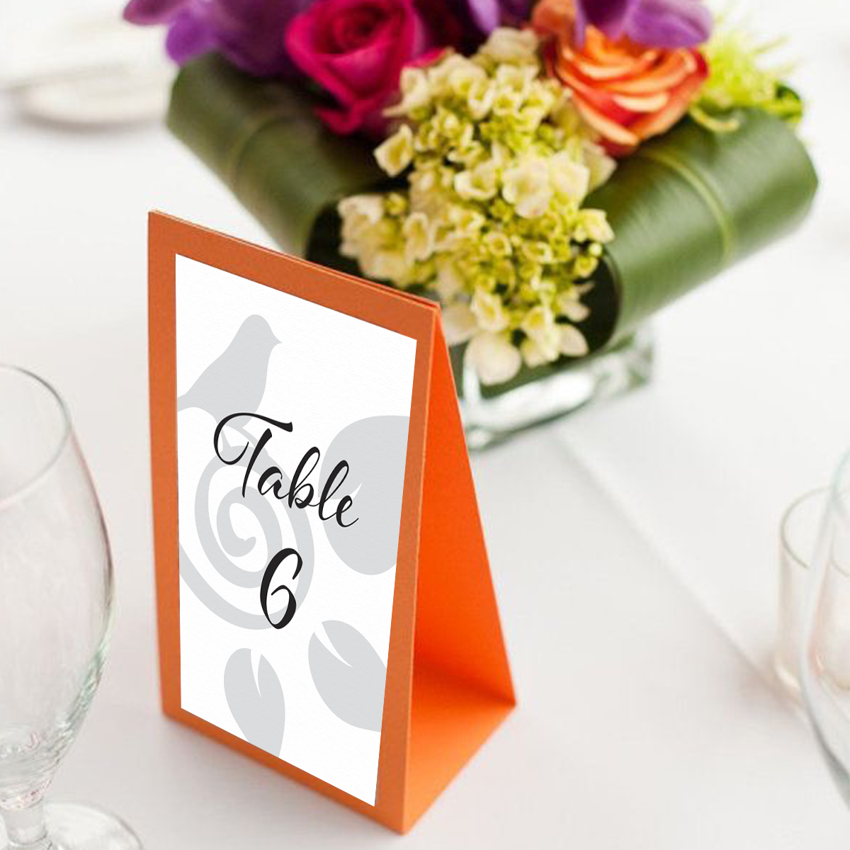 Party Table Tent